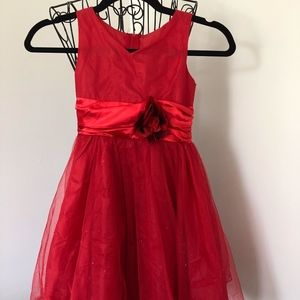 Other - Red Little Girl Dress